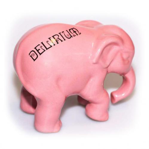 Huyghe - Статуэтка слона декоративная керамическая Delirium