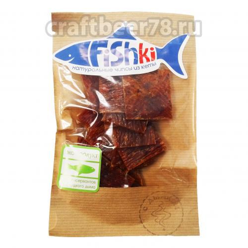 Fishki - Fishki чипсы рыбные С дымком