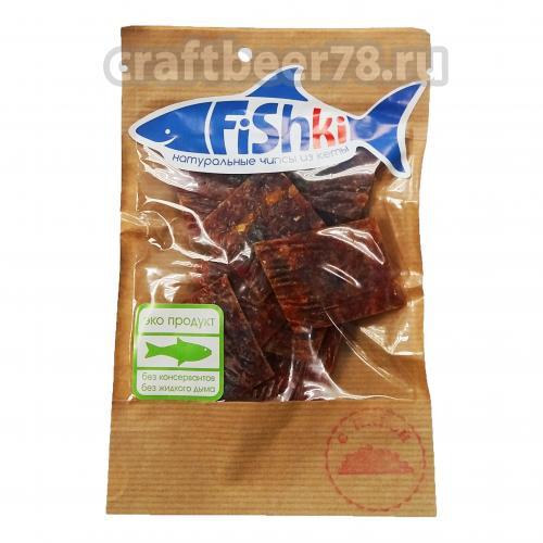 Fishki - Fishki чипсы рыбные С икрой