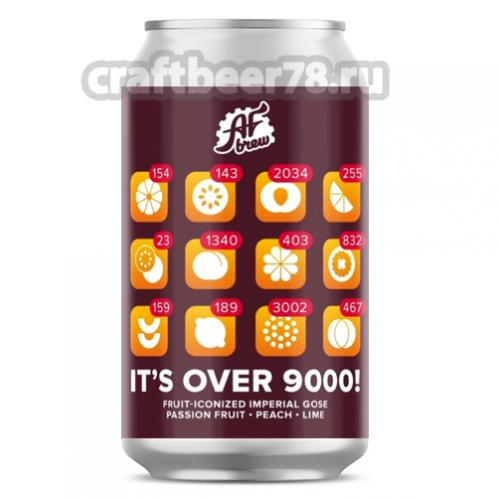 AF Brew - It's Over 9000! Passion Fruit Peach Lime