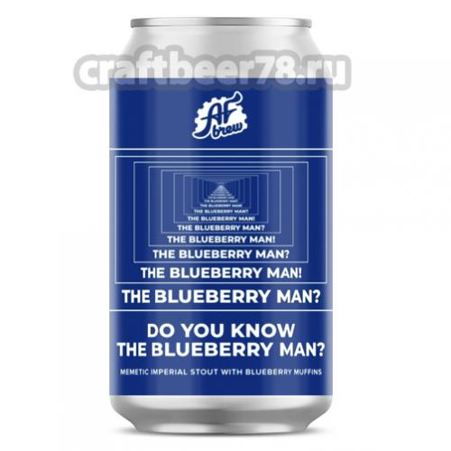 AF Brew - Do You Know the Blueberry Man?