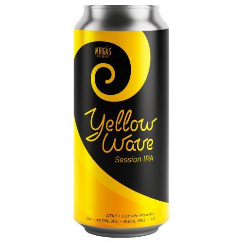 New Riga`s - Yellow Wave