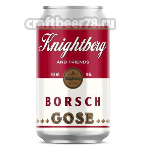 Knightberg - Borsch Gose