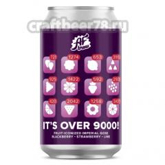 AF Brew - It's Over 9000! Blackberry Strawberry Lime