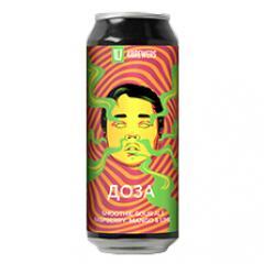 Четыре пивовара - Доза [малина, манго, лайм]