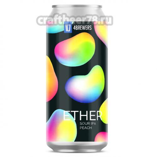 Четыре пивовара - Ether Peach