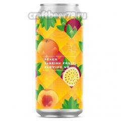 Stamm Brewing - Blowing Up: Peach & Passion Fruit