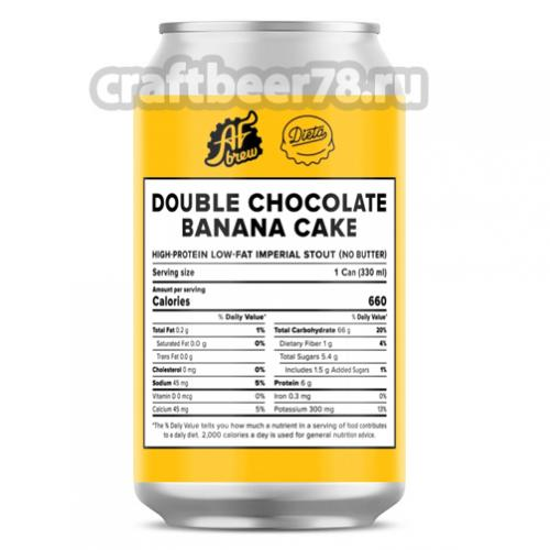 AF Brew - Double Chocolate Banana Cake