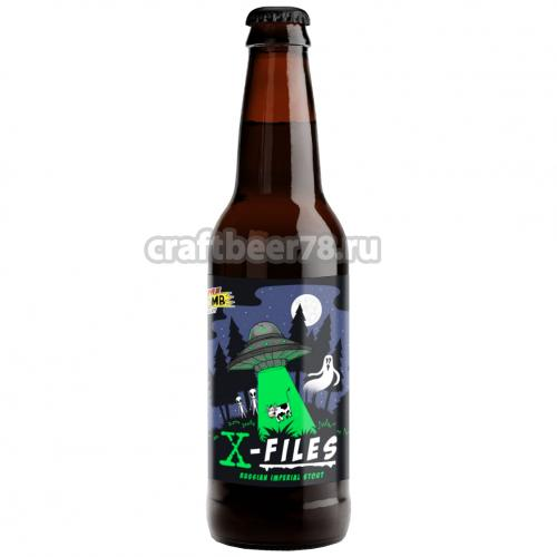 Time Bomb Brewery - X-Files
