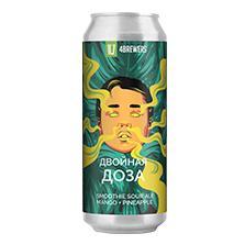 Четыре пивовара - Двойная Доза [манго, ананас]