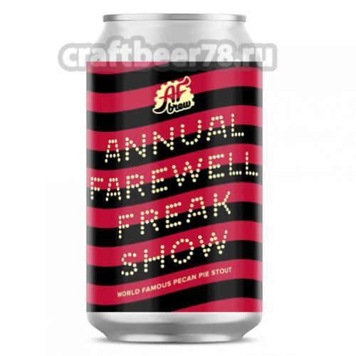 AF Brew - Annual Farewell Freak Show