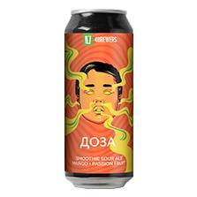 Четыре пивовара - Доза [Guava + Mango]