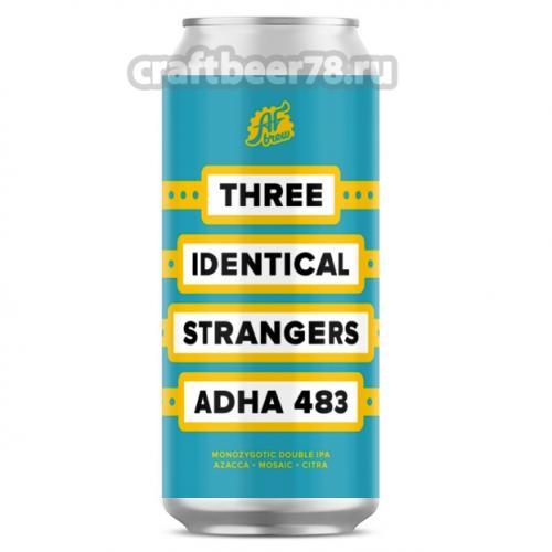 AF Brew - Three Identical Strangers: ADHA 483