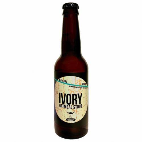 WooHa Brewing - Ivory Oatmeal Stout