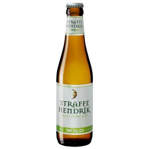 De Halve Maan - Straffe Hendrik Brugs Tripel Bier Wild (2018)