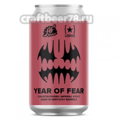 AF Brew - Year of Fear. Kentucky