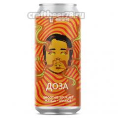 Четыре пивовара - Доза [Mango + Orange]