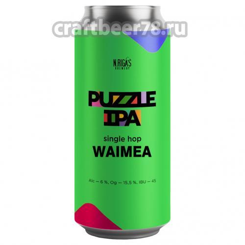 New Riga's - Puzzle IPA Waimea