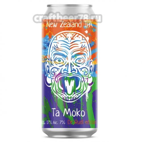 Одна тонна - Ta Moko: Dr Rudi Edition