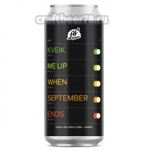 AF Brew - Kveik Me Up When September Ends