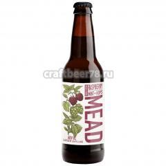 Степь и Ветер - Raspberry, Mint And Hops Mead Double Edition