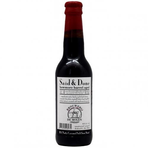 De Molen Brouwerij - Said & Done Bowmore Barrel Aged