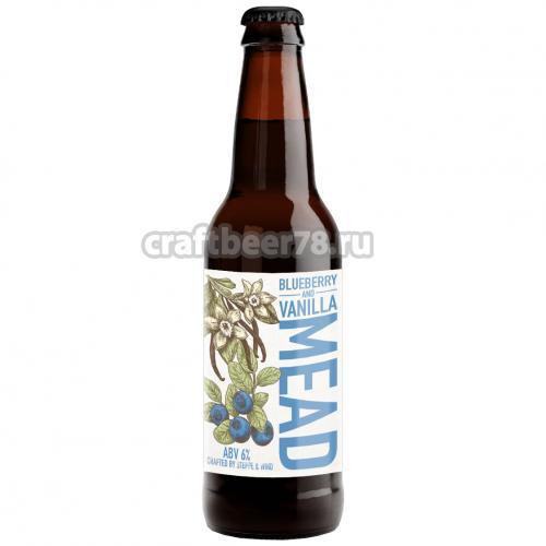 Степь и Ветер - Blueberry and Vanilla Mead 6%