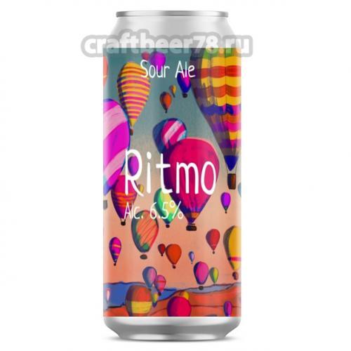 Одна тонна - Ritmo Sour Ale: Raspberry / Basil