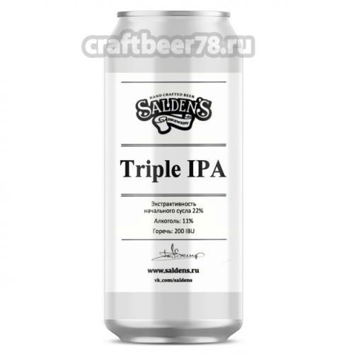 Salden's - Triple IPA (Citra, Simcoe, Mosaic)