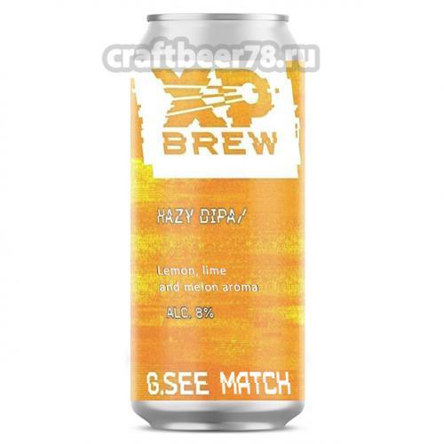 XP Brew - G.see Match