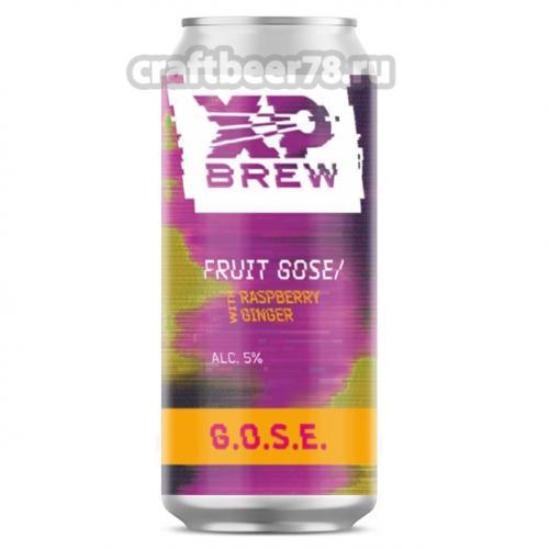 XP Brew - G.O.S.E. | Raspberry & Ginger