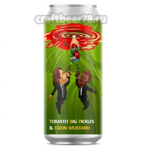 ТБП - Tomato Big Pickles & Dijon Mustard