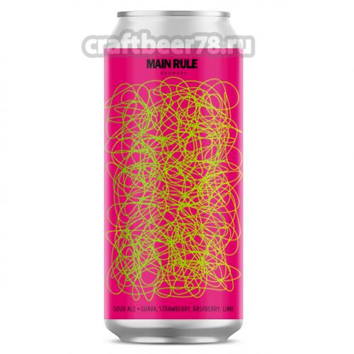 Main Rule - All Mixed Up (Guava, Strawberry, Raspberry, Lime)
