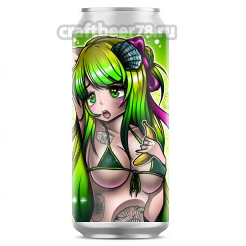 B.A.D. Brewery - Kiwi, Banana and Green Spirulina