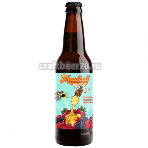 Time Bomb Brewery - Meadball: Cranberry, Raspberry & Black Currant