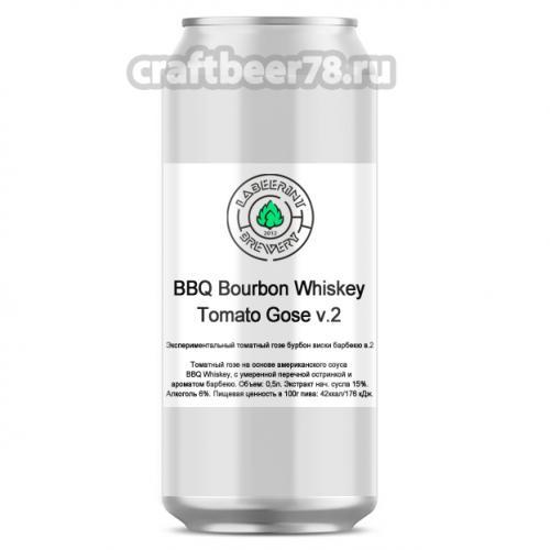 LaBEERint Brewery - Tomato Gose v.2 (BBQ Bourbon Whiskey)