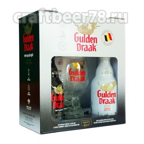 Van Steenberge - Gulden Draak (2 бут. x 0,33л. + бокал)