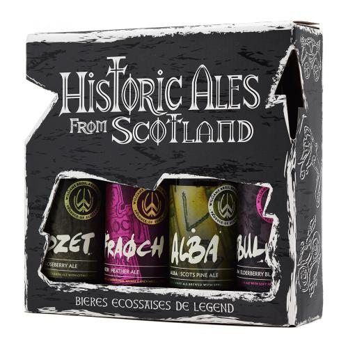 Williams Bros. - Historic Ales from Scotland (4 бут. x 0,33л.)