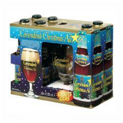 Corsendonk - Corsendonk Christmas Ale (6 бут. x 0,25л. + бокал)
