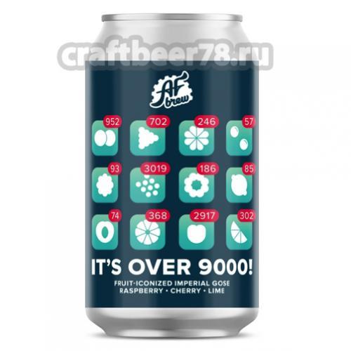 AF Brew - It's Over 9000!